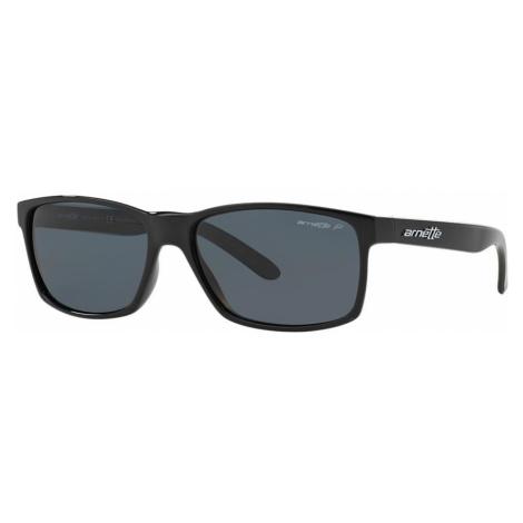 Arnette Man AN4185 - Frame color: Black, Lens color: Grey-Black, Size 58-16/145
