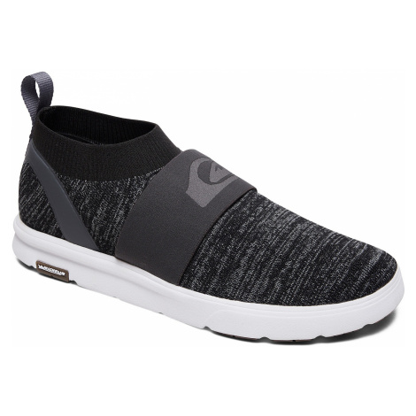 shoes Quiksilver Amphibian Plus Slip-On - XSSW/Gray/Gray/White - men´s