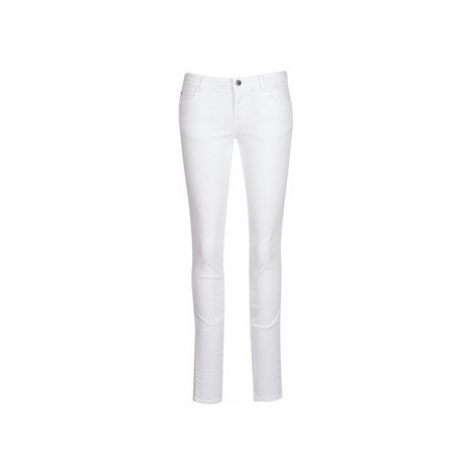 Guess CURVE X women's Skinny Jeans in White