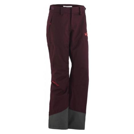 KARI TRAA FRONT wine - Women's ski pants