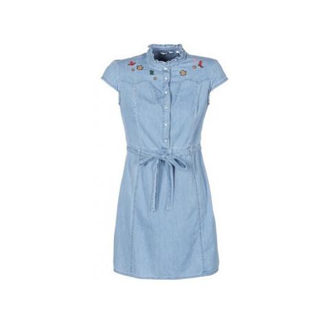 Naf Naf LUTA women's Dress in Blue