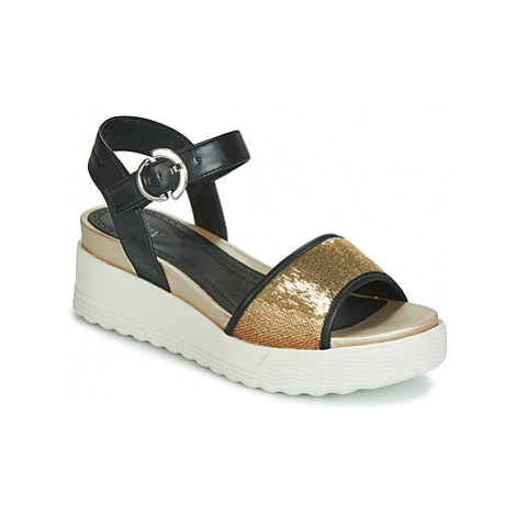 Stonefly PARKY 3 NAPPA/PAILETTES women's Sandals in Black