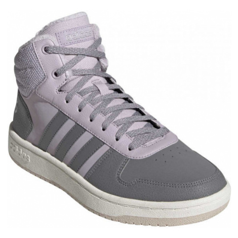 adidas HOOPS 2.0 MID brown - Women's leisure shoes