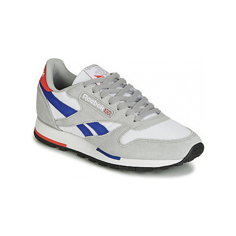 Reebok Classic CL LEATHER MU men's Shoes (Trainers) in Grey
