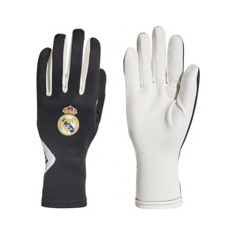 Real Madrid Field Player Gloves - White Adidas