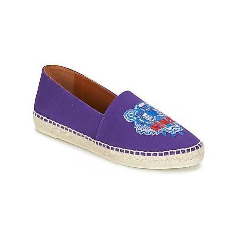 Kenzo CLASSIC ESPADRILLES TIGER women's Espadrilles / Casual Shoes in Purple