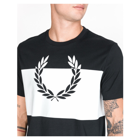 Fred Perry Laurel Wreath T-shirt Black