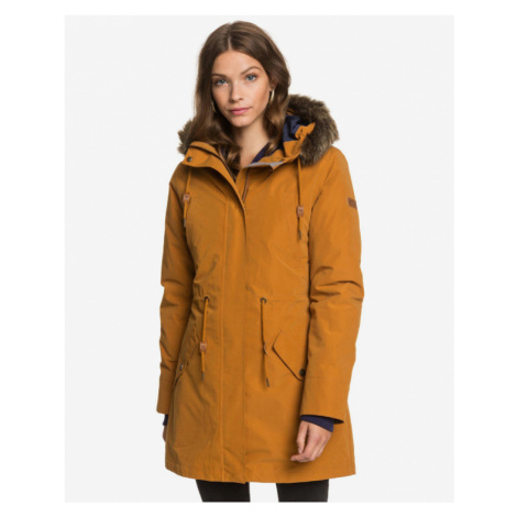 Roxy Amy 3-In-1 Waterproof Jacket Yellow Orange