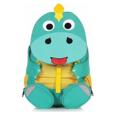 backpack Affenzahn Didi Dino - Turquoise/Yellow