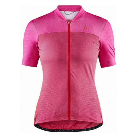 Craft HALE GLOW pink - Women's cycling jersey