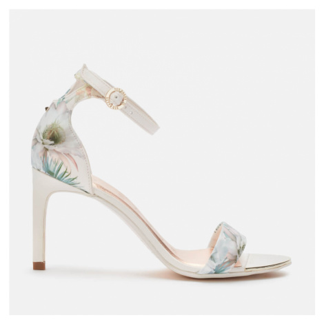 Ted Baker Women's Mwilli Barely There Heeled Sandals - White/Blue - UK