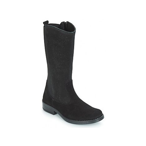 Citrouille et Compagnie JINNY girls's Children's High Boots in Black