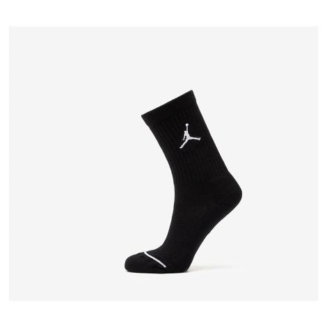 Jordan Everyday Max Waterfall 3 Pair Socks Black/ Black/ Black