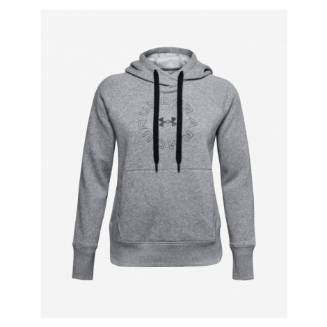 Under Armour Rival Fleece Metallic Sweatshirt Grey