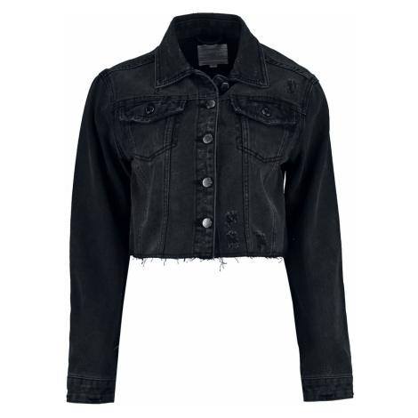 Hailys Tilla Jeans Jacket dark grey Haily´s