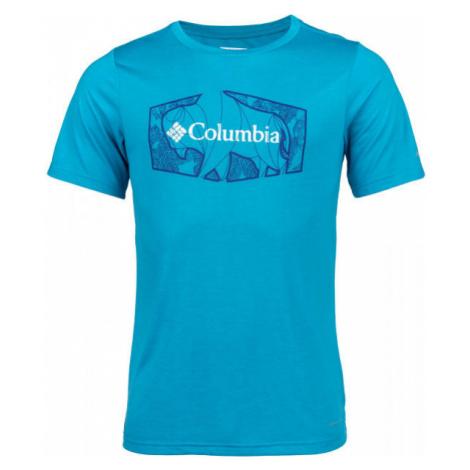Columbia TERRA VALE™ II SS TEE blue - Men's T-Shirt