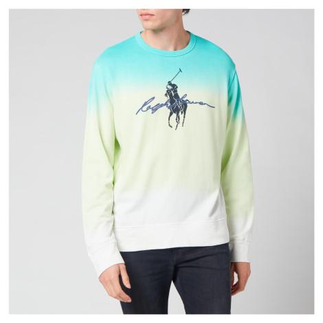 Polo Ralph Lauren Men's Spa Terry Sweatshirt - White Dye Multi
