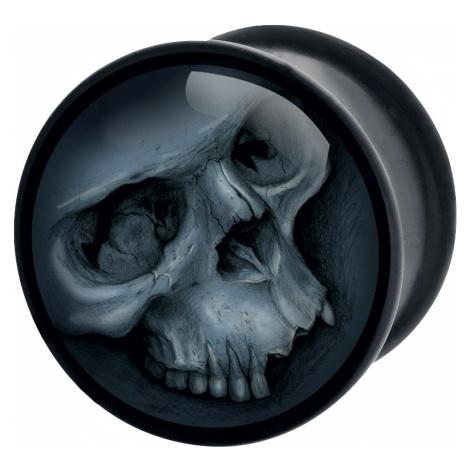 Wildcat - Grey Skull - Ear Plug - black-grey