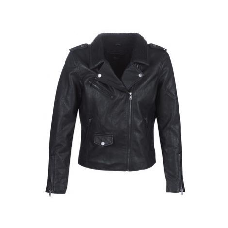 Only ONLTAYLOR women's Leather jacket in Black