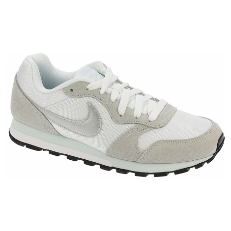 shoes Nike MD Runner 2 - White/Metallic Silver/Fiberglass
