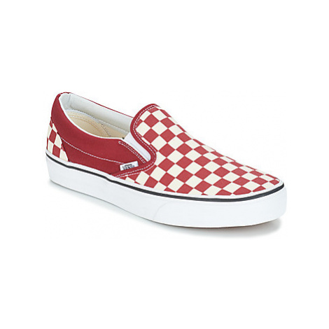Vans CLASSIC SLIP-ON women's Slip-ons (Shoes) in Bordeaux