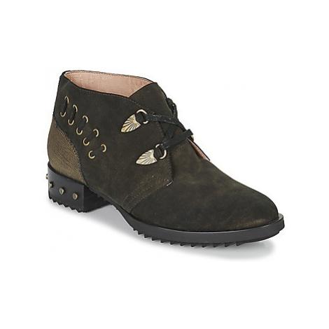 Mam'Zelle XESTO women's Mid Boots in Kaki