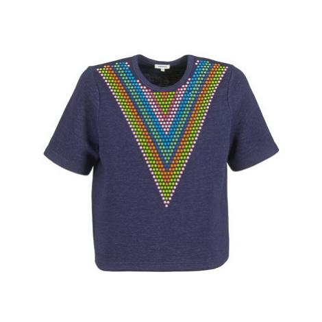 Manoush DOUDOU STAR women's Sweatshirt in Blue
