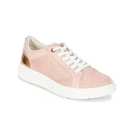 S.Oliver EXIMATE women's Shoes (Trainers) in Pink