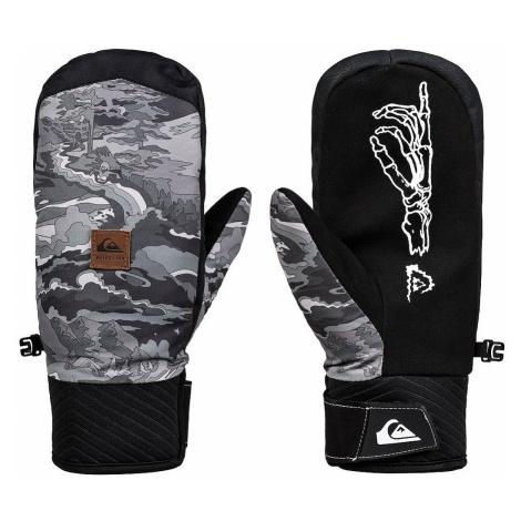 glove Quiksilver Method Mitt - KVM8/Black Snowscene - men´s