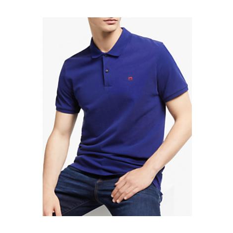 Scotch & Soda Garment Short Sleeve Pique Polo Shirt