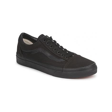 Vans OLD SKOOL women's Shoes (Trainers) in Black