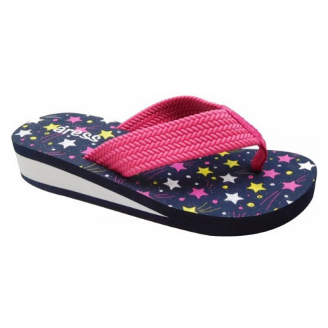 Aress ASTRA black - Kids' flip-flops