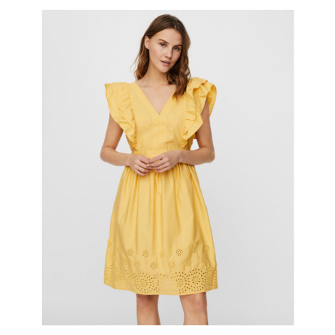 Vero Moda Lisa Dress Yellow
