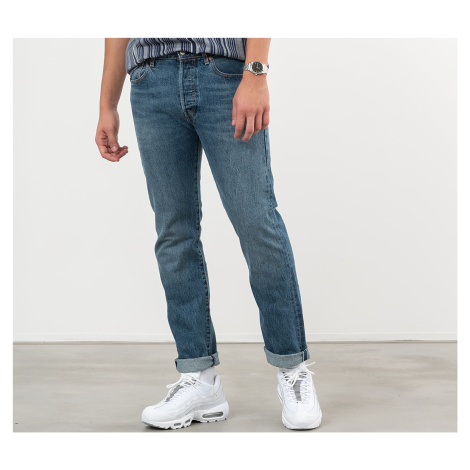 Grey men's straight jeans