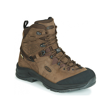 Keen KARRAIG MID WP men's Walking Boots in Brown