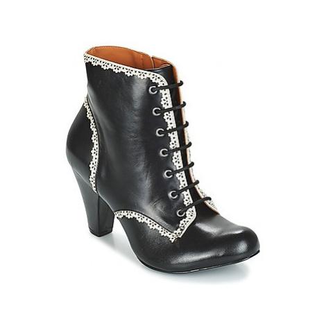 Cristofoli KARANA women's Low Ankle Boots in Black Cristófoli