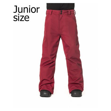 pants Horsefeathers Pinball - Red - unisex junior