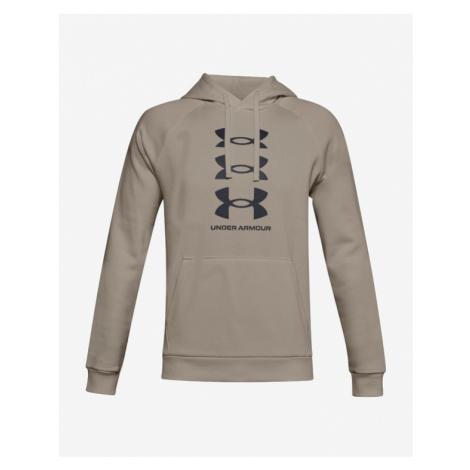 Under Armour Rival Fleece Multilogo Sweatshirt Brown