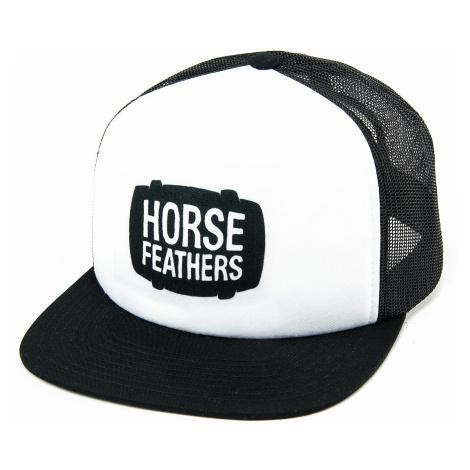 cap Horsefeathers Landen Trucker - White - men´s