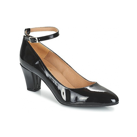 So Size HOLO women's Court Shoes in Black