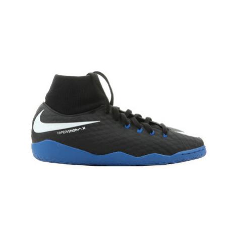 Nike JR Hypervenomx Phelon 3 DF IC 917774 002 boys's Children's Football Boots in Black