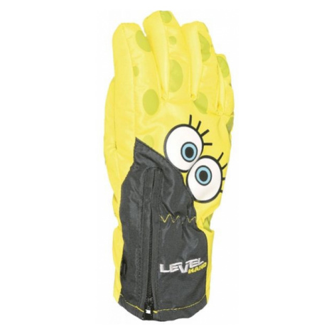 Level LUCKY yellow - Water resistant insulated gloves