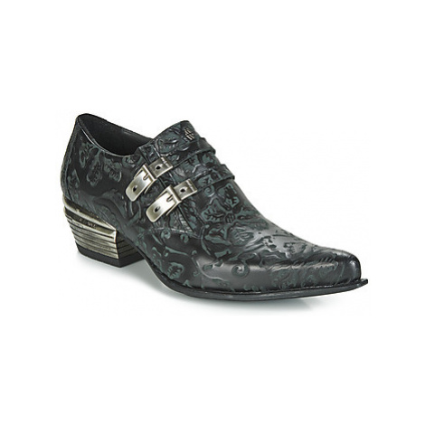 New Rock M-2246-S24 men's Casual Shoes in Black