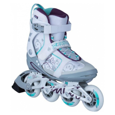 Zealot MANDY white - Women's fitness inline skates