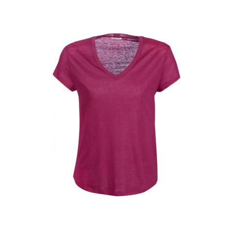 Ikks BN10195-84 women's T shirt in Pink