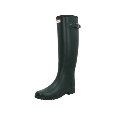 Hunter ORIGINAL REFINED women's Wellington Boots in Green
