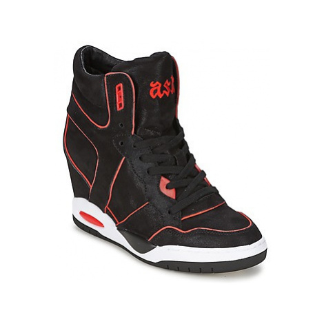 Ash BEST women's Shoes (High-top Trainers) in Black