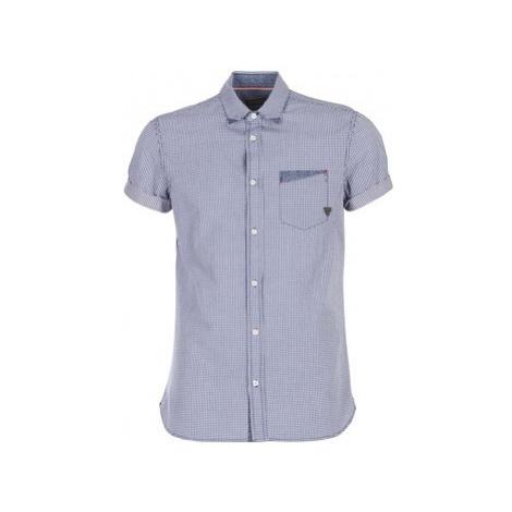 Kaporal SPOT men's Short sleeved Shirt in Blue