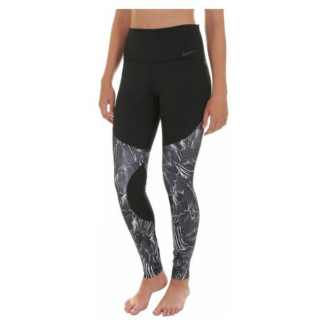 leggings Nike Power Gym Flutter Print Tights - 010/Black/Atmosphere Gray/Black - women´s