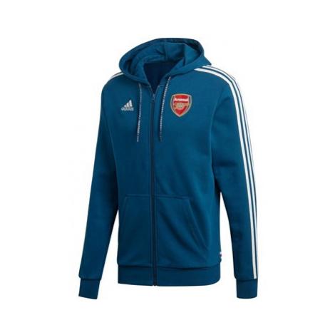 Arsenal Full Zip Hoodie - Navy Adidas